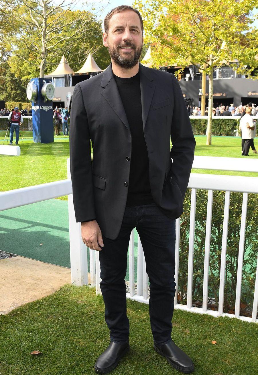 Fred Testotau Qatar Prix de l'Arc de Triomphe sur l'hippodrome de Longchamp à Paris le 6 octobre 2019