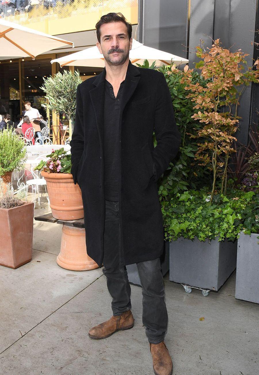 Grégory Fitoussiau Qatar Prix de l'Arc de Triomphe sur l'hippodrome de Longchamp à Paris le 6 octobre 2019