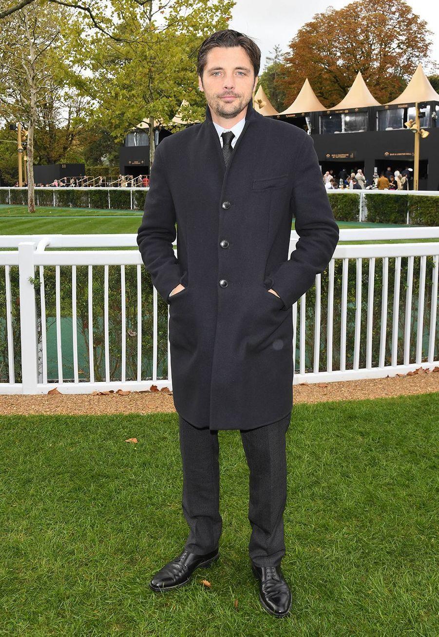 Raphaël Personnazau Qatar Prix de l'Arc de Triomphe sur l'hippodrome de Longchamp à Paris le 6 octobre 2019