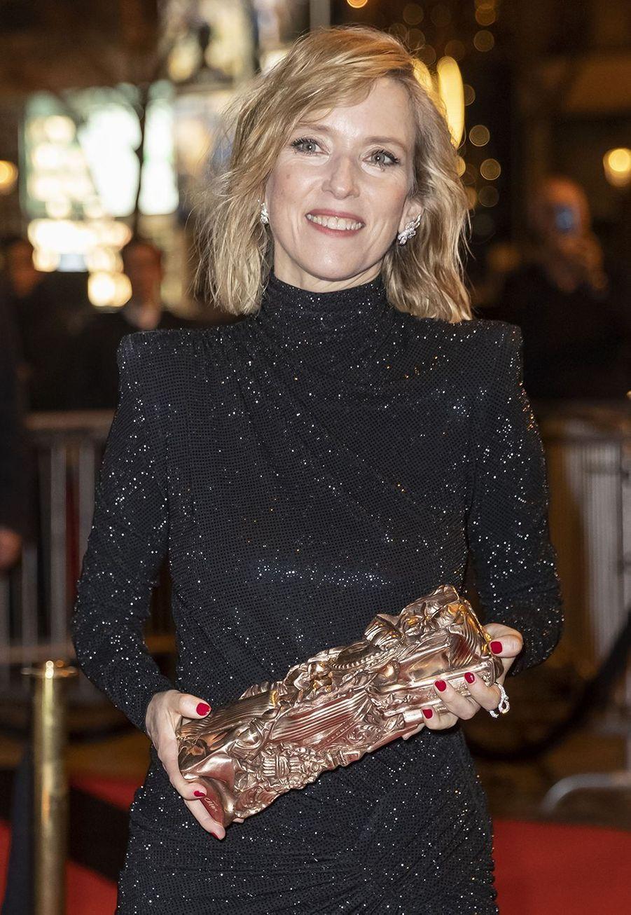 Léa Druckerau dîner de la 44ème cérémonie des César au Fouquet's à Paris le 22 février 2019