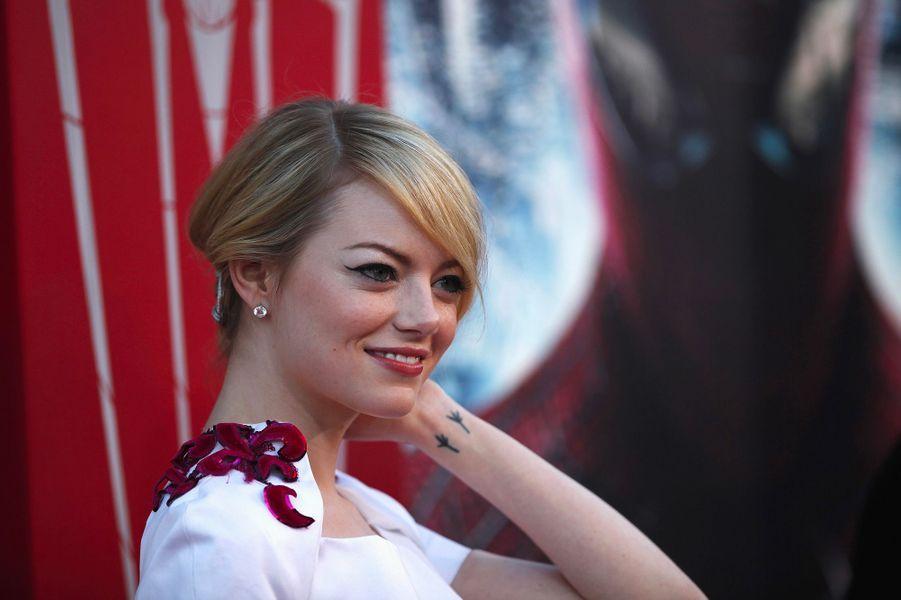 Emma Stone, le 29 juin 2012