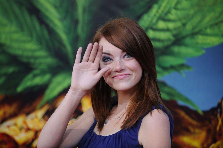 Emma Stone, le 1er août 2008