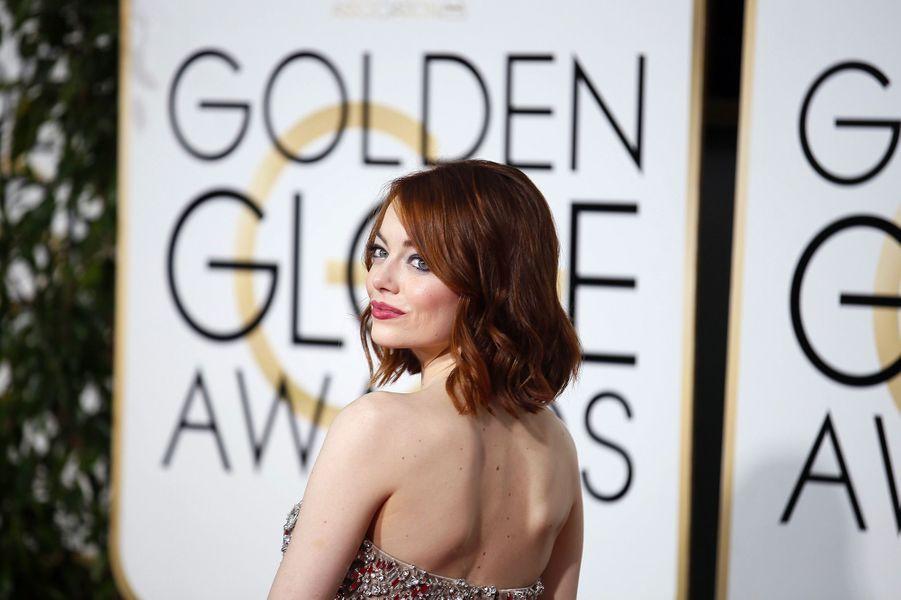 Emma Stone, le 12 janvier 2015