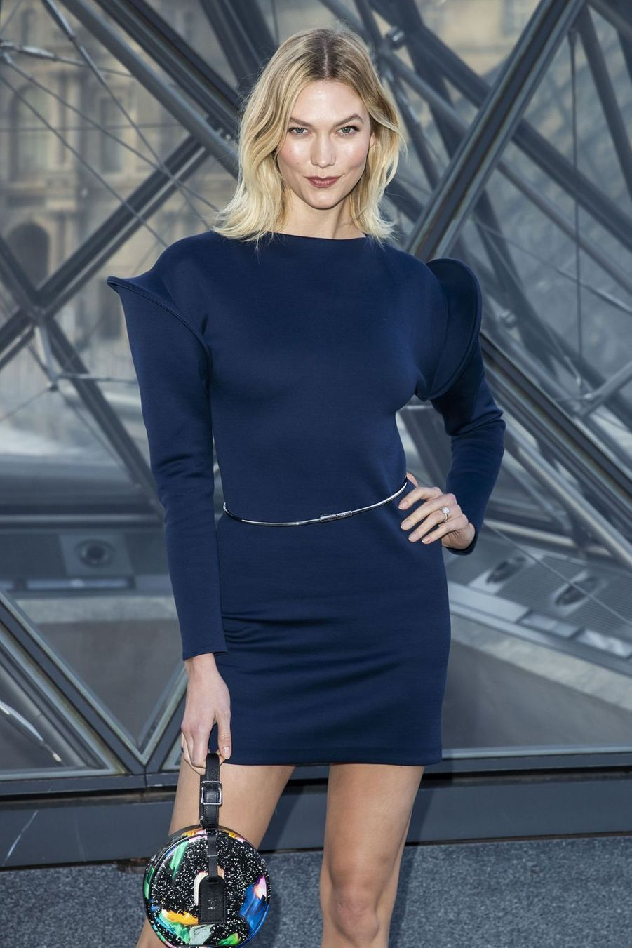 Karlie Kloss au défilé Louis Vuitton à Paris, le 5 mars 2019