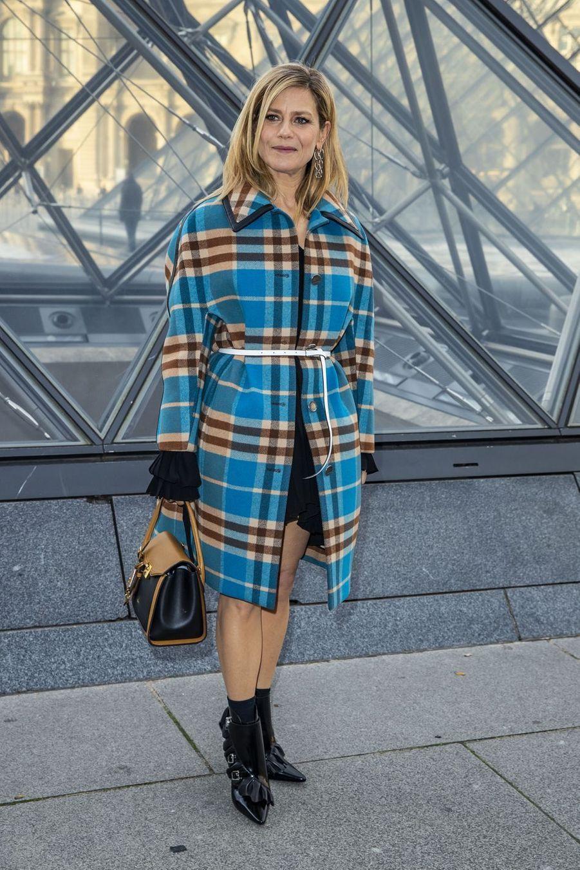 Marina Foïsau défilé Louis Vuitton à Paris, le 5 mars 2019