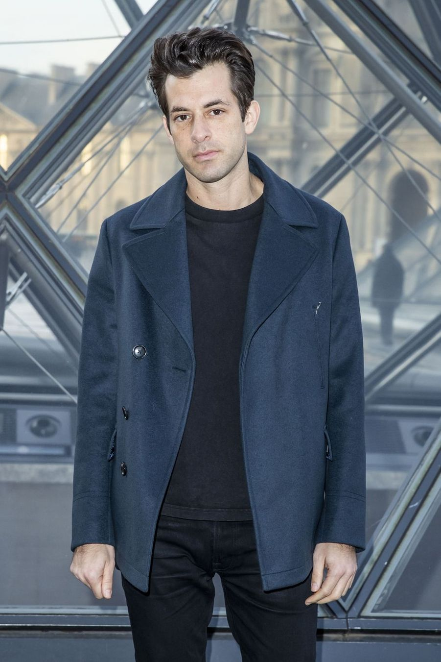 Mark Ronson au défilé Louis Vuitton à Paris, le 5 mars 2019