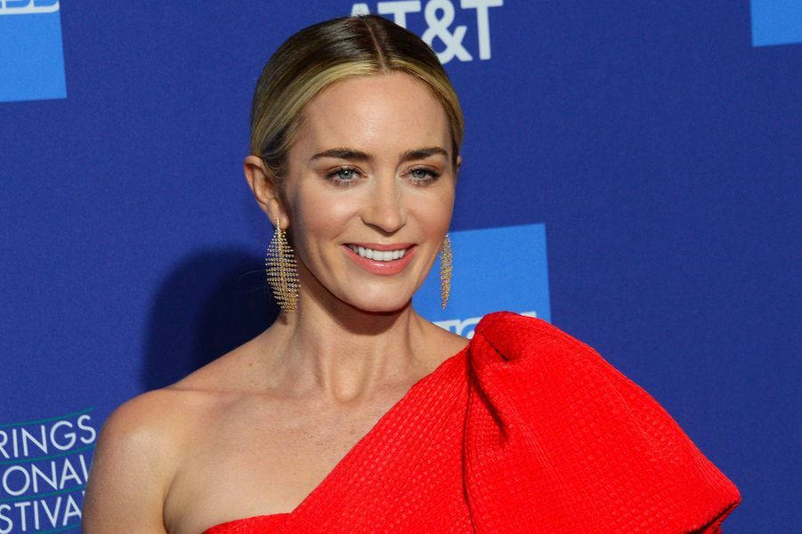 Emily Blunt au festival du film international de Palm Springs, jeudi 3 janvier