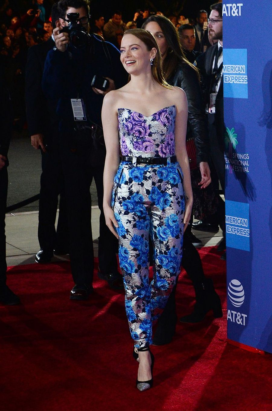 Emma Stone au festival du film international de Palm Springs, jeudi 3 janvier