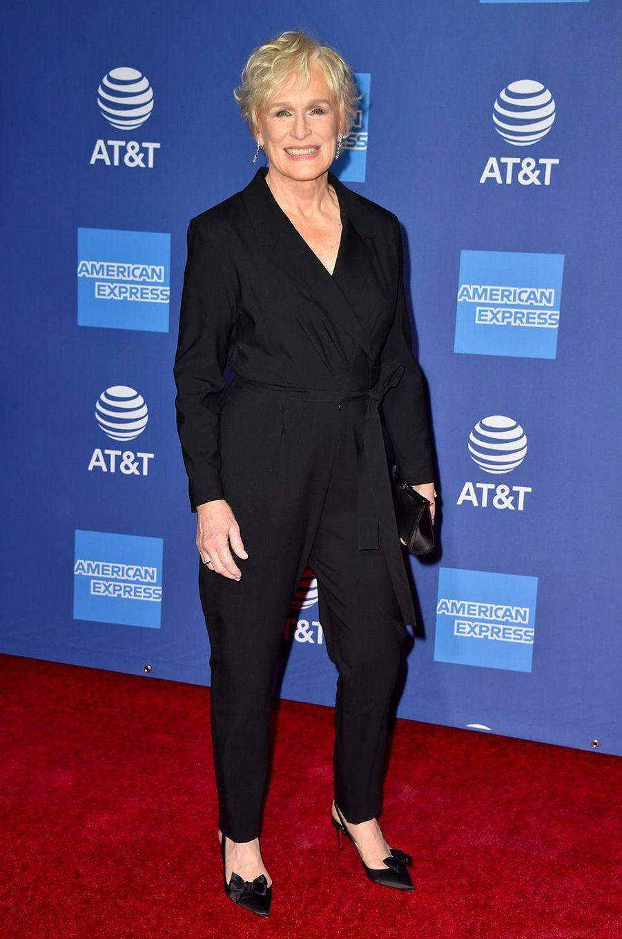 Glenn Close au festival du film international de Palm Springs, jeudi 3 janvier