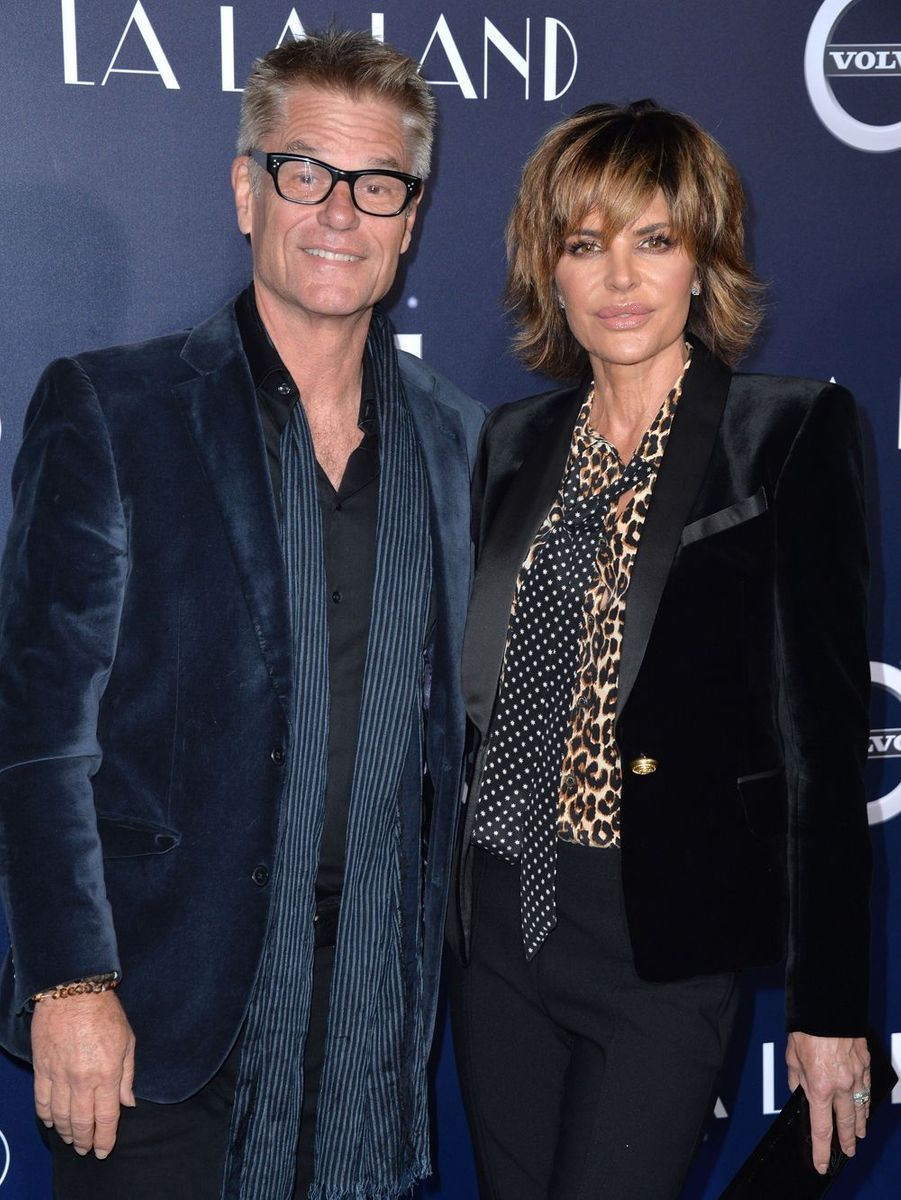 Harry Hamlin et Lisa Rinna