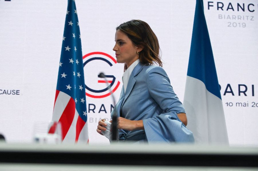 Emma Watson à Paris le 10 mai 2019