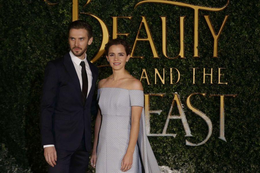 Emma Watson et Dan Stevens.