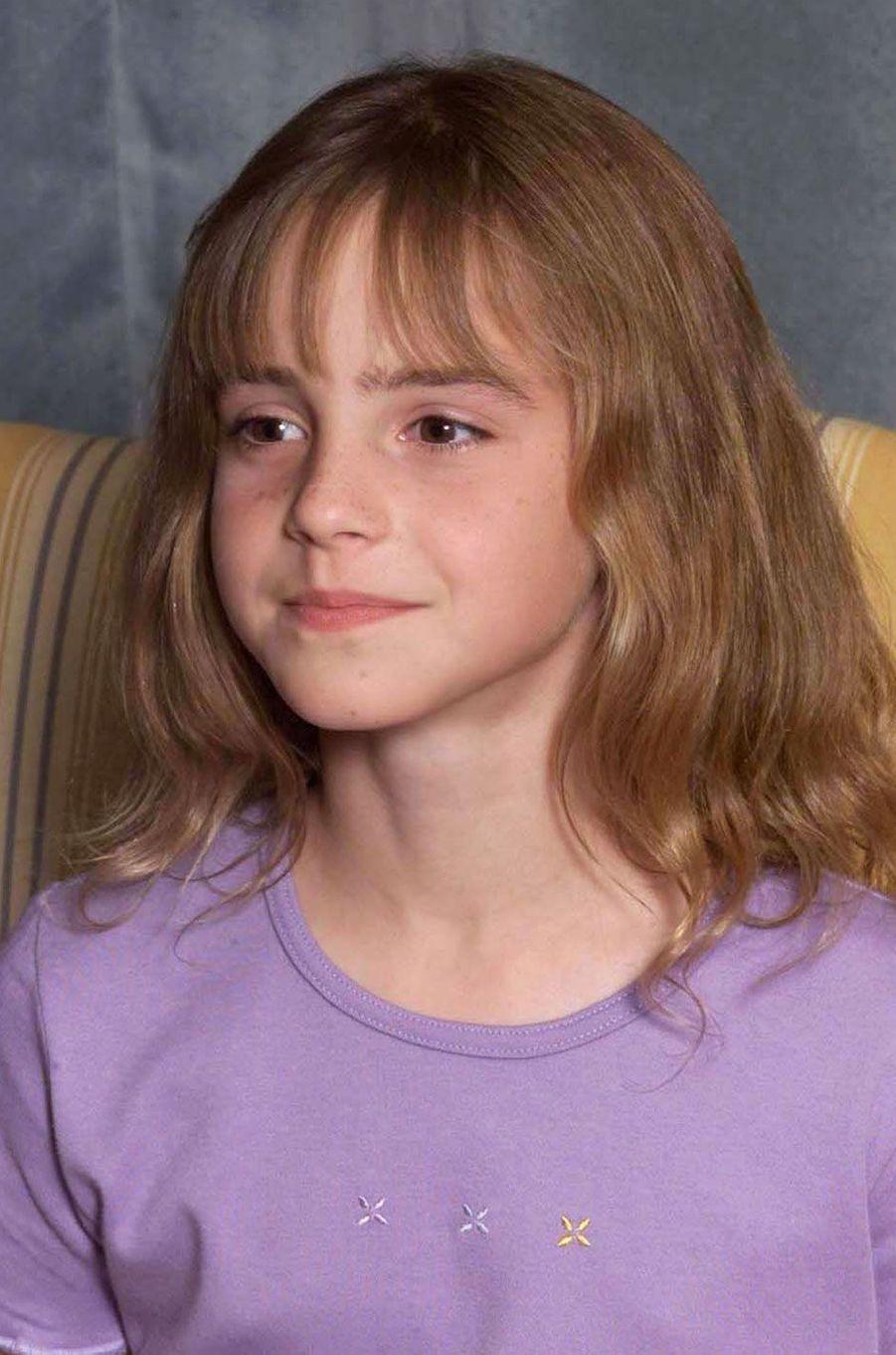Emma Watson en août 2000