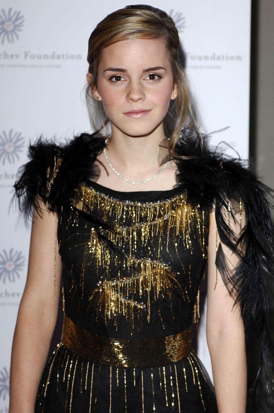 Emma Watson jeune.