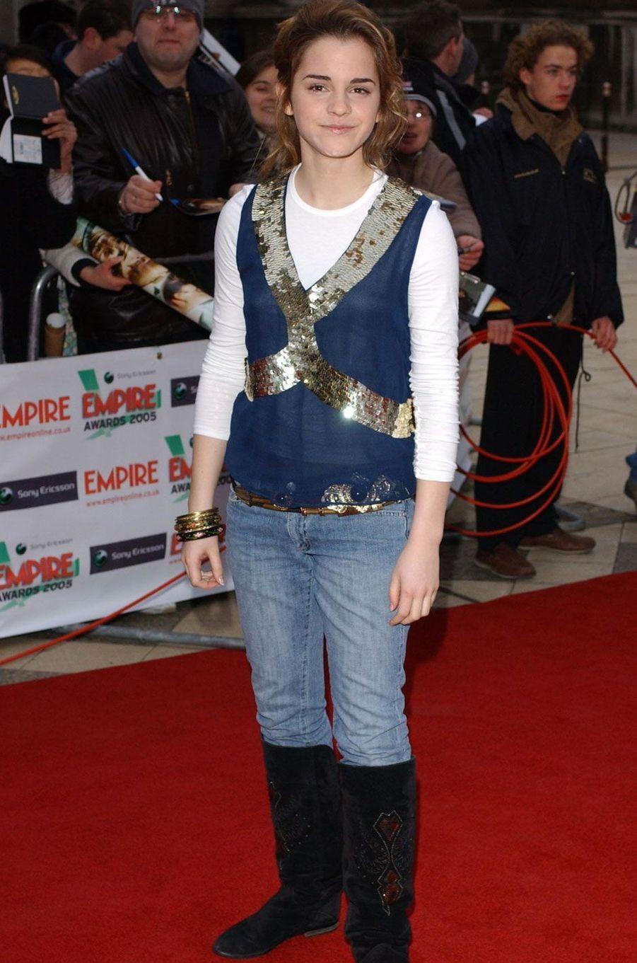 Emma Watson en 2005.