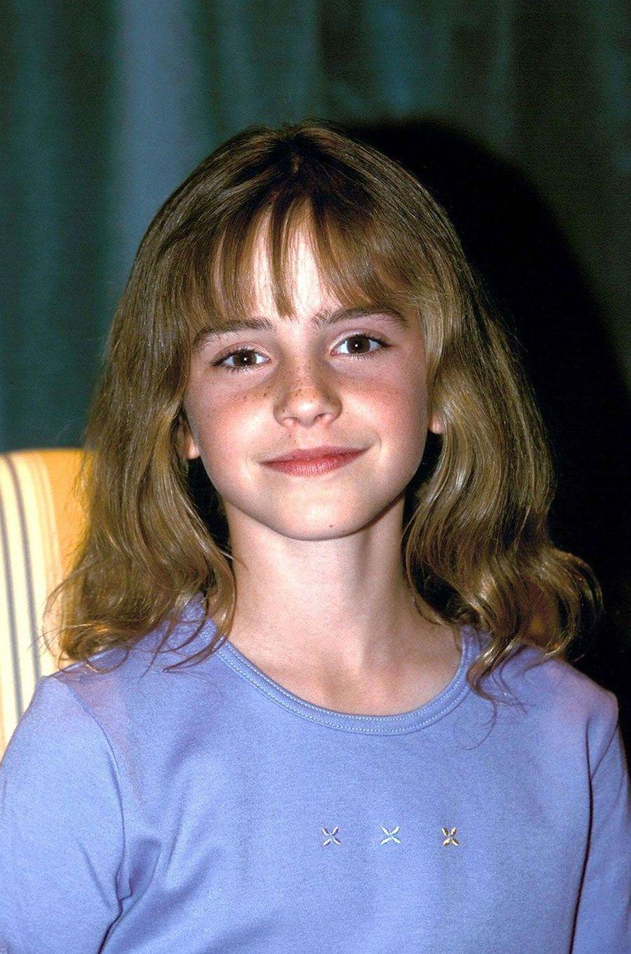 Emma Watson en 2000.