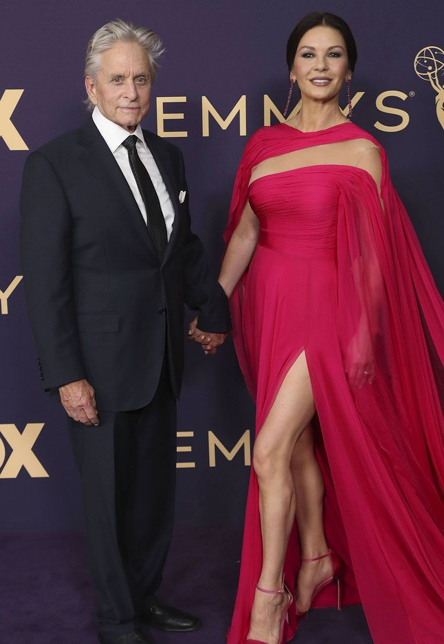 Michael Douglas et Catherine Zeta-Jones aux Emmy Awards