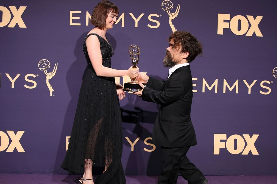 Maisie Williams et Peter Dinklage