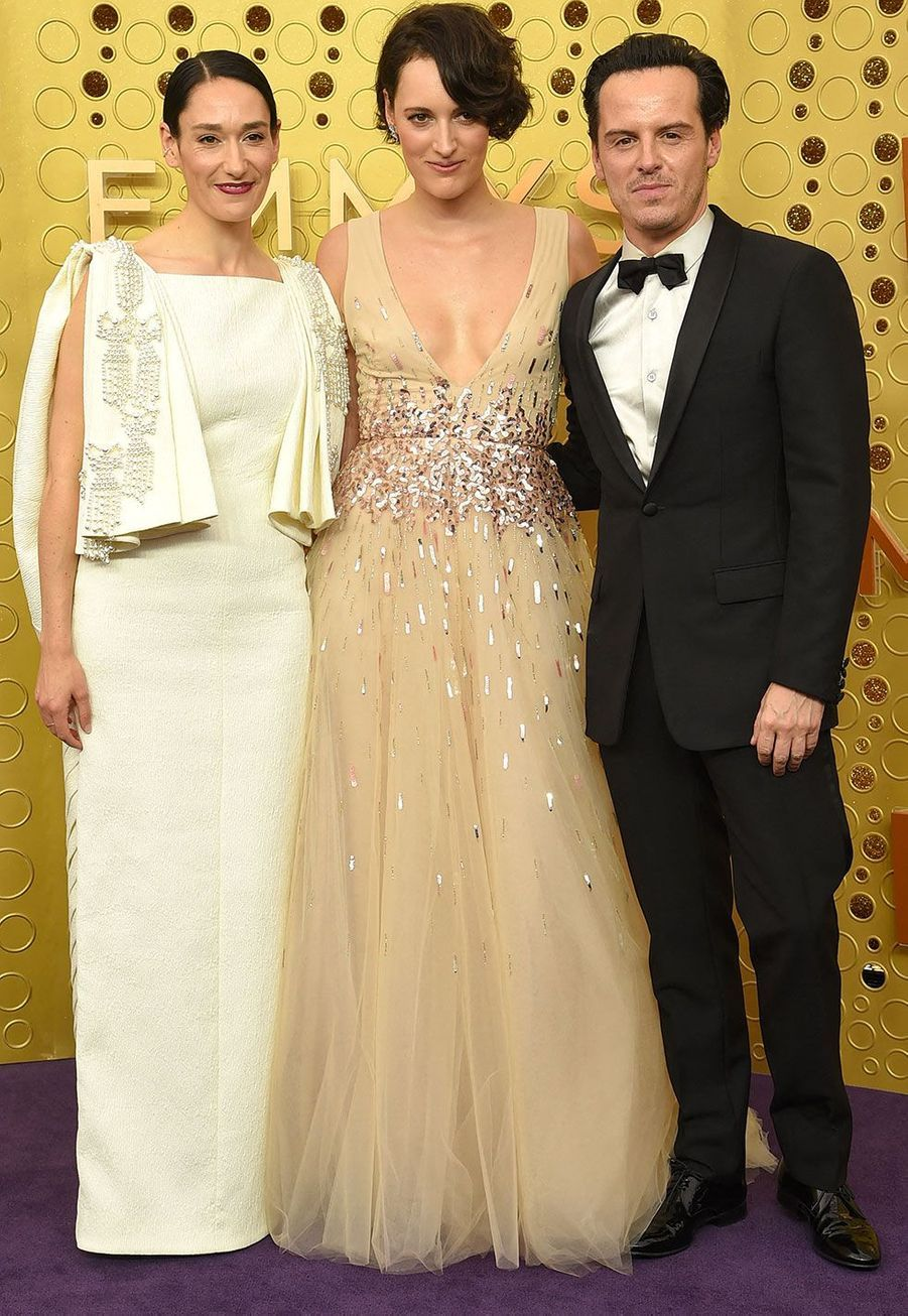 Sian Clifford, Phoebe Waller-Bridge et Andrew Scott