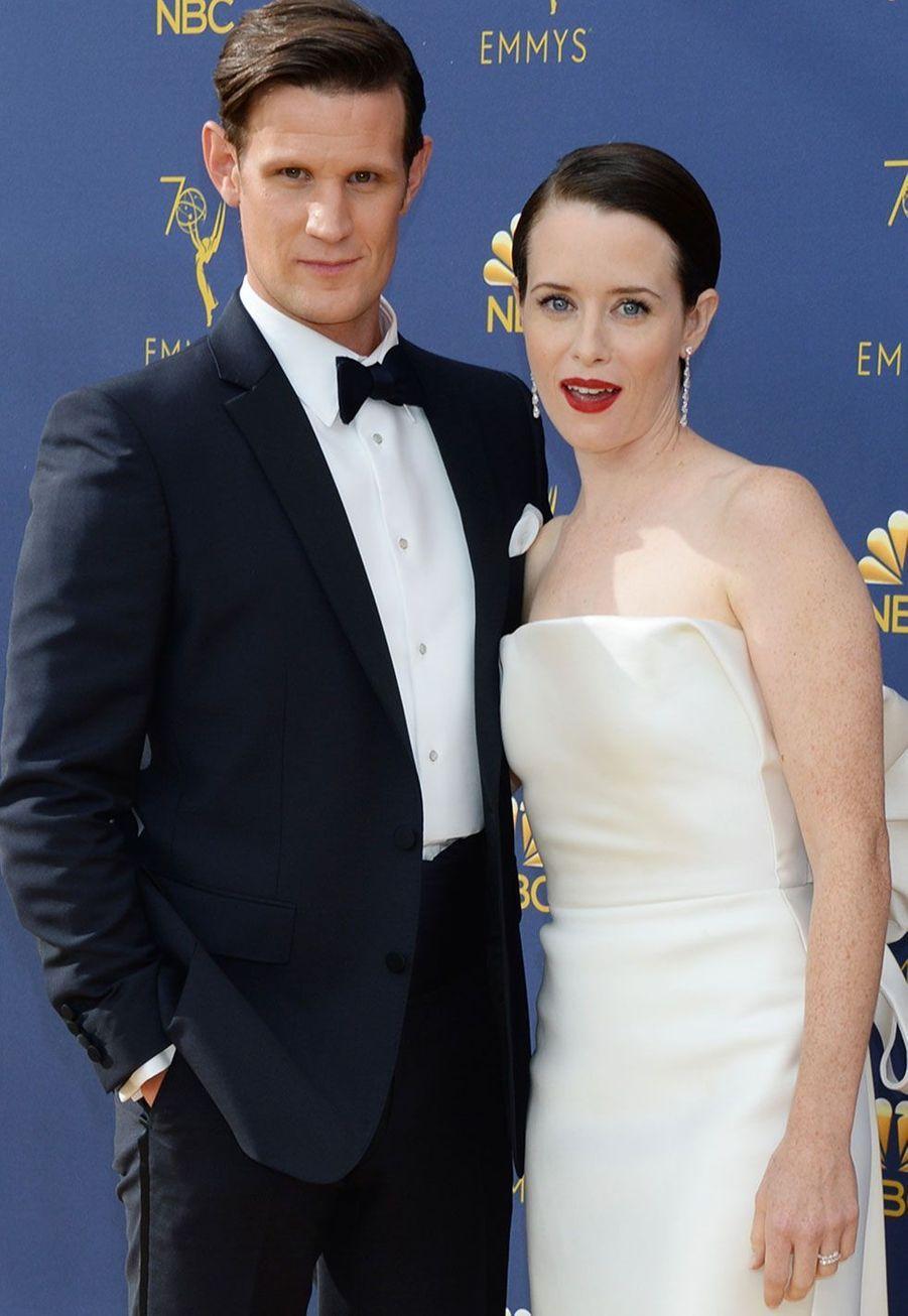 Matt Smith et Claire Foy