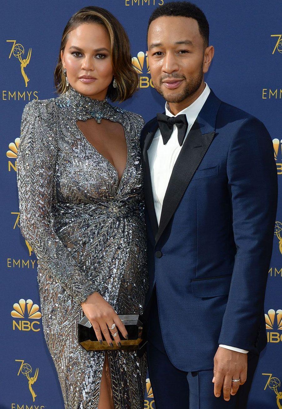 John Legend et sa femme Chrissy Tiegen