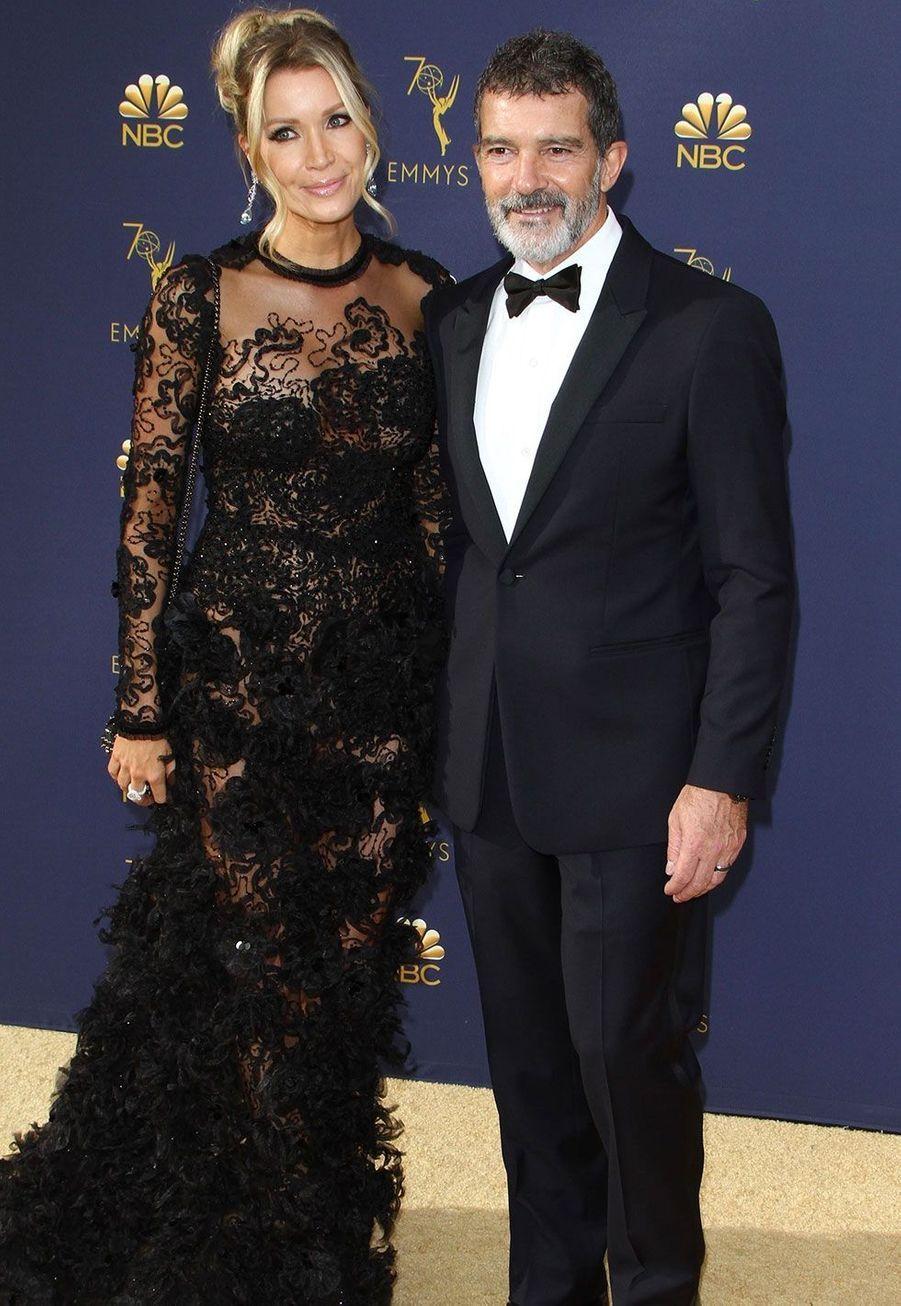 Antonio Banderas et sa compagne