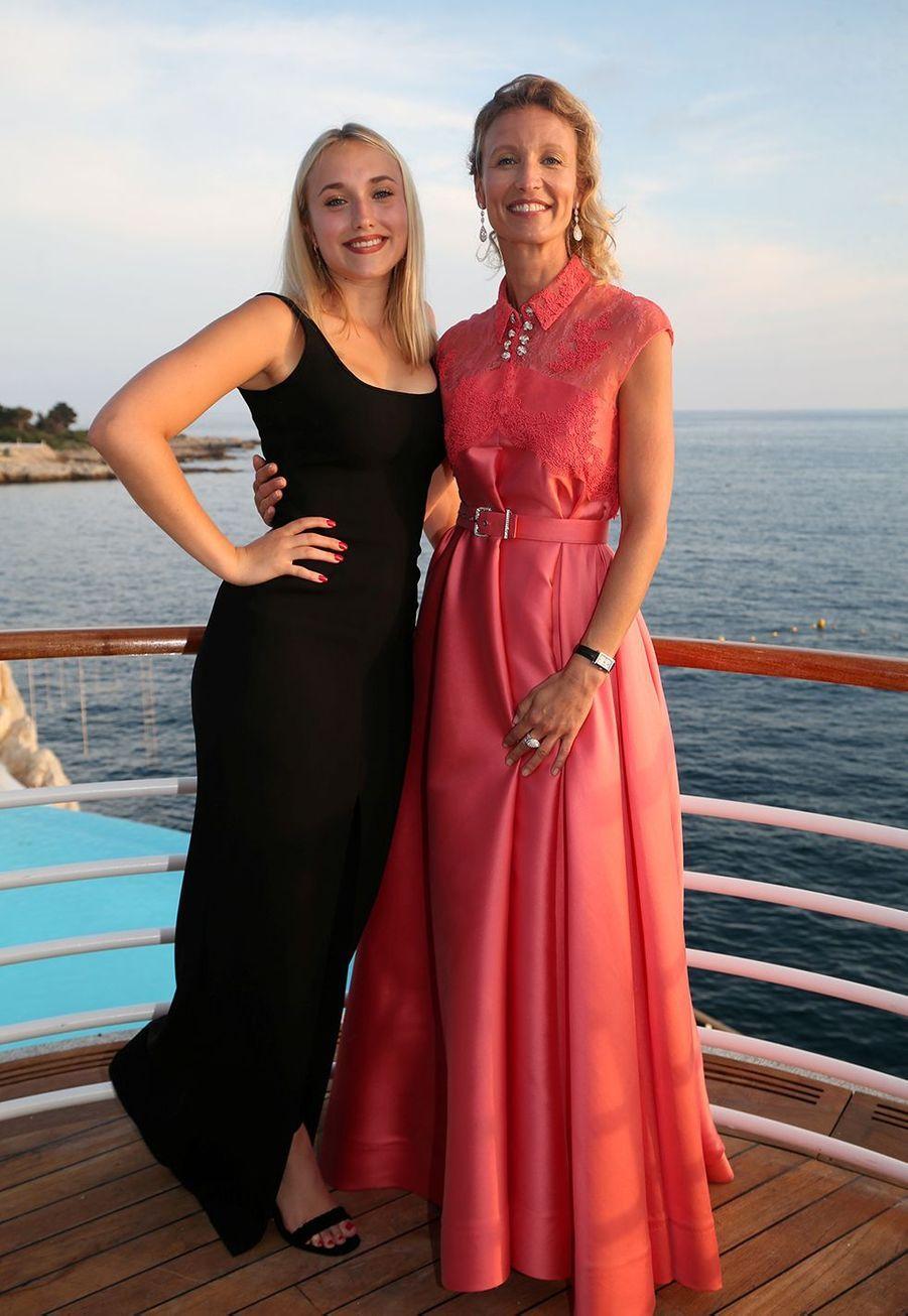 Alexandra Lamy et sa filleChloé Jouannet