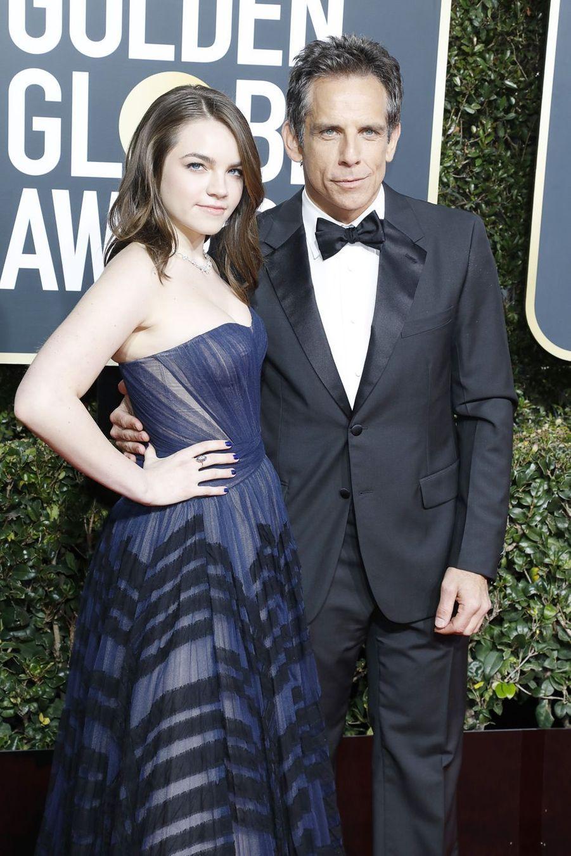Ben Stiller et sa fille Ella