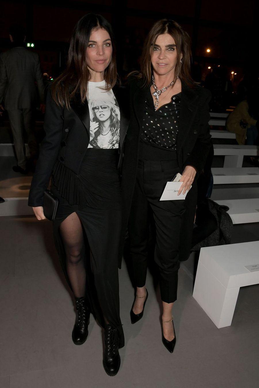 Carine Roitfeld et sa fille Julia Restoin