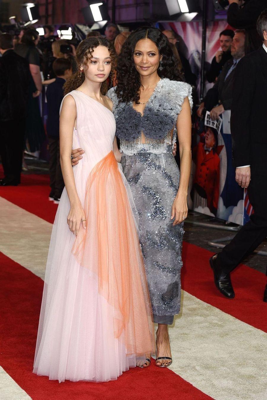 Thandie Newton et sa filleNico Parker