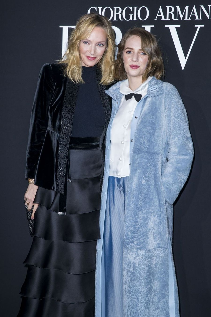 Uma Thurman et sa fille Maya Thurman-Hawke