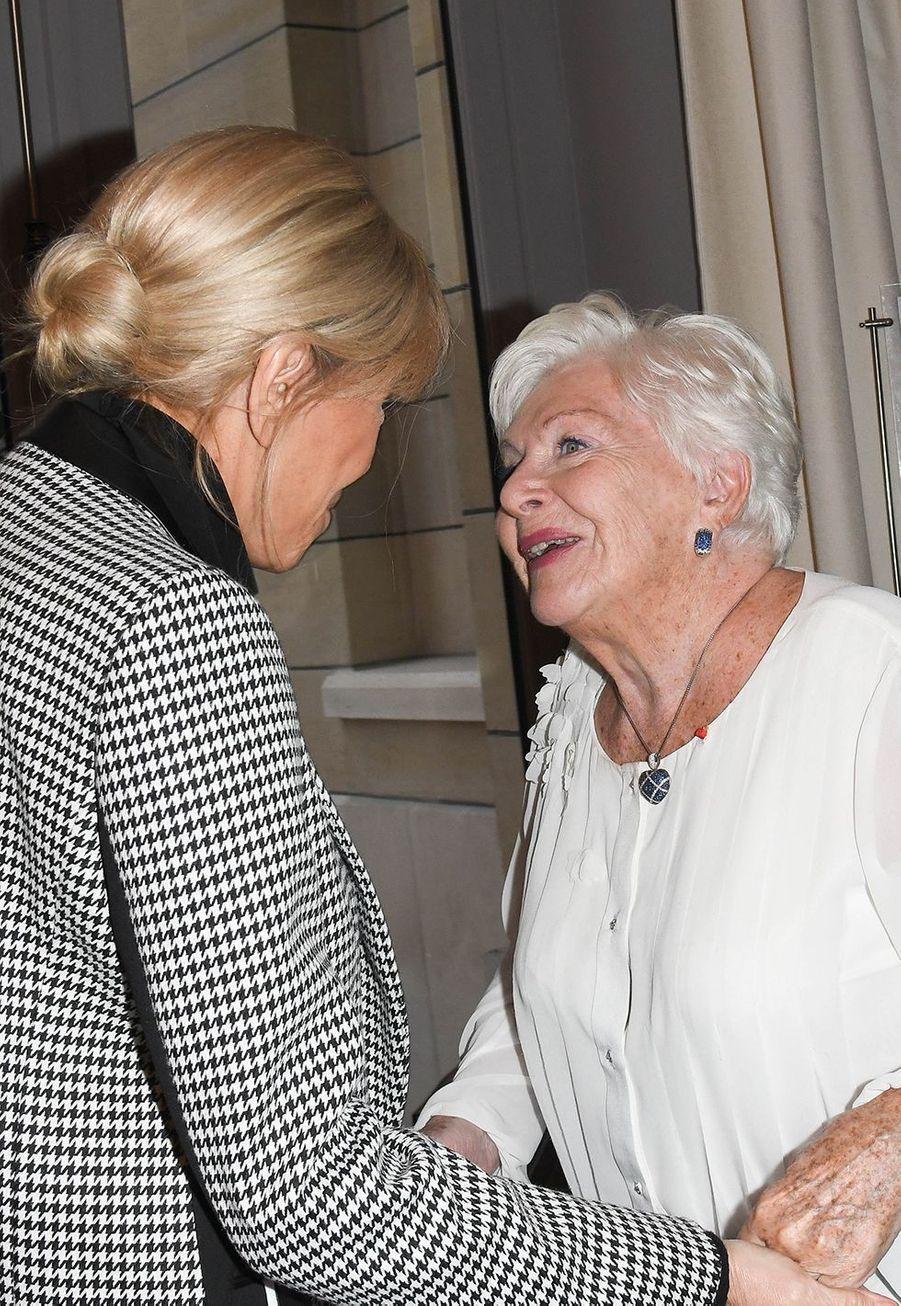 Brigitte Macron et Line Renaud