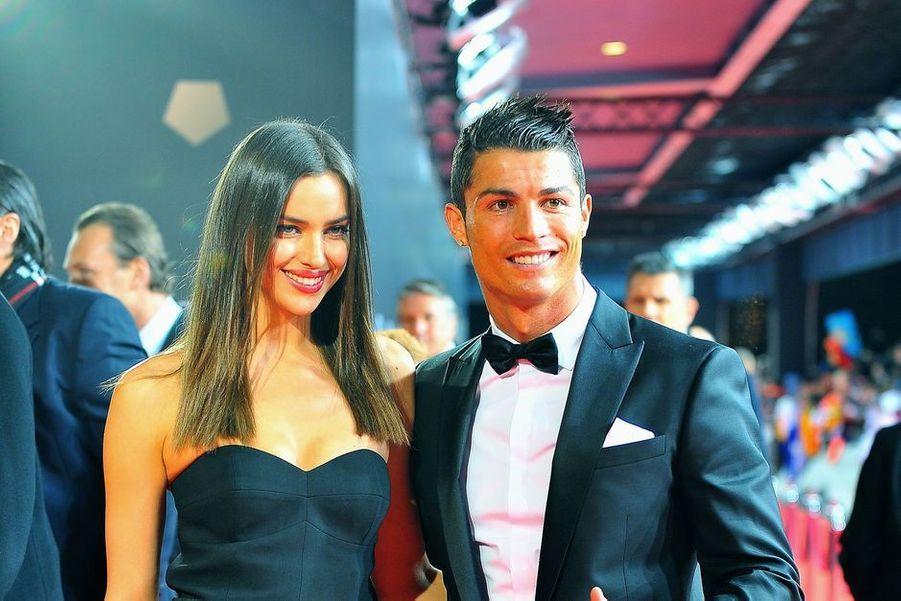 Le mannequin russe Irina Shayk et Cristiano Ronaldo ont arpenté les tapis rouges bras dessus bras dessous de 2010 à fin 2014.