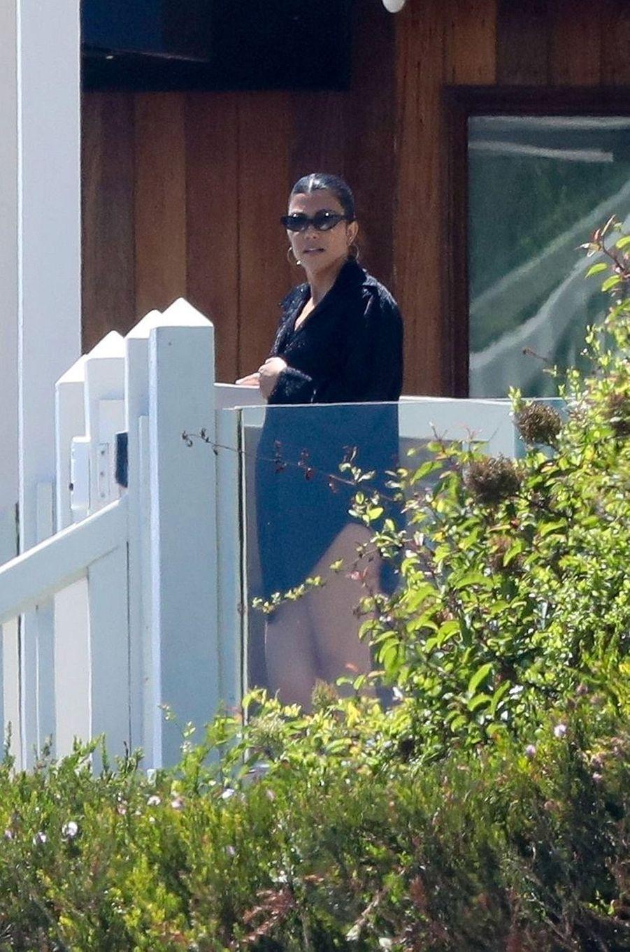Kourtney Kardashian à Malibu le 27 juillet 2020