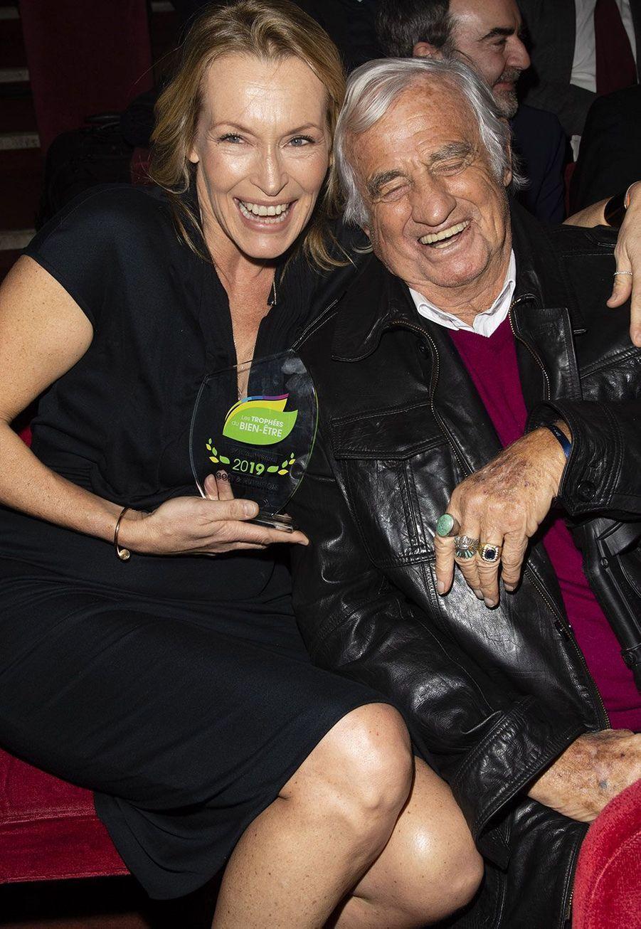 Estelle Lefébure et Jean-Paul Belmondo