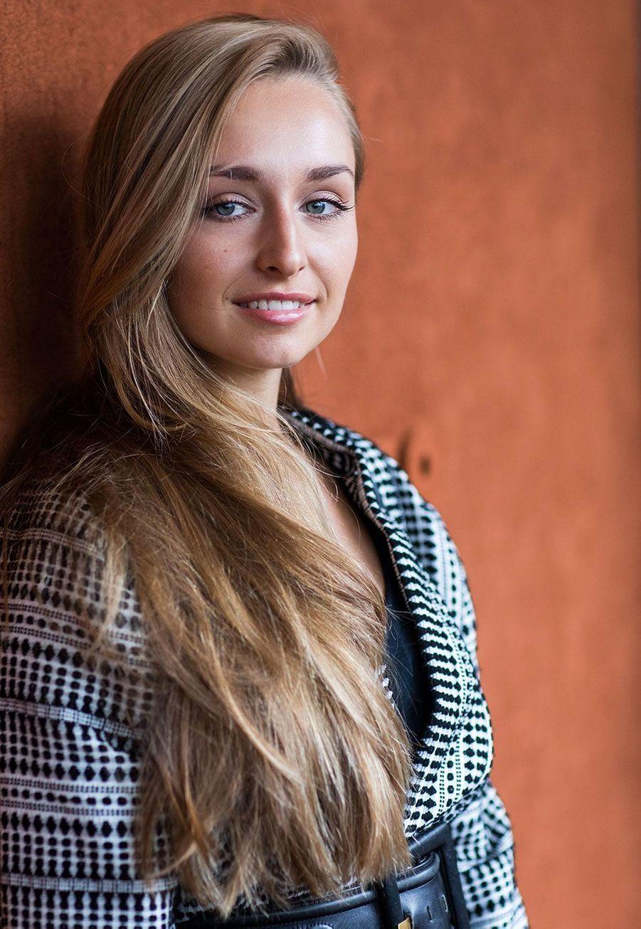 Emma Smet mercredi, à Roland Garros