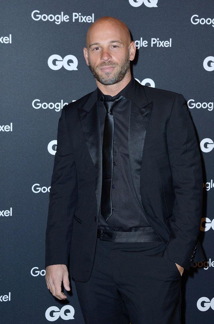 Franck Gastambide à la soirée GQ Hommes de l'année, à Paris, lundi 26 novembre
