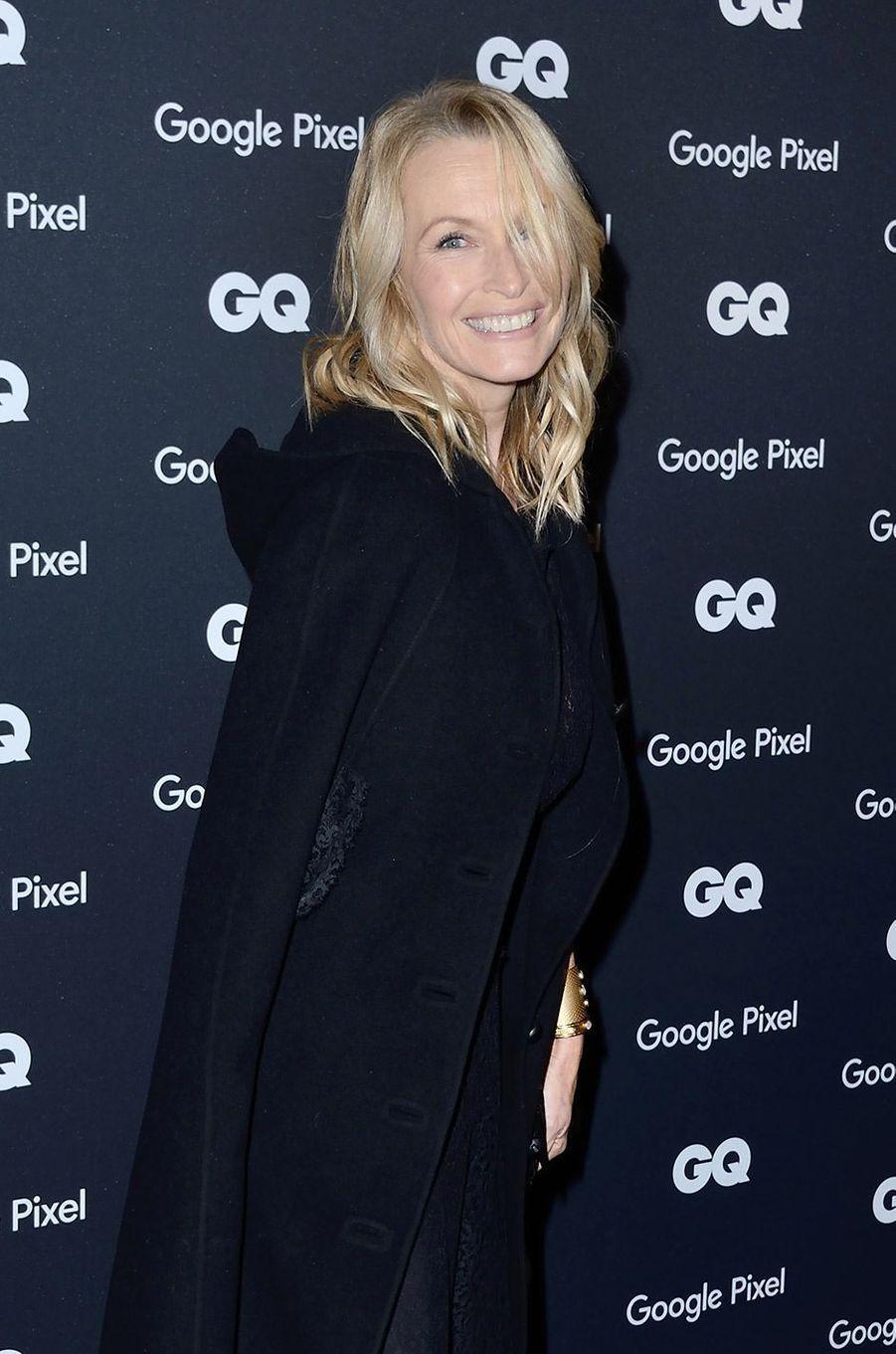Estelle Lefébure à la soirée GQ Hommes de l'année, à Paris, lundi 26 novembre