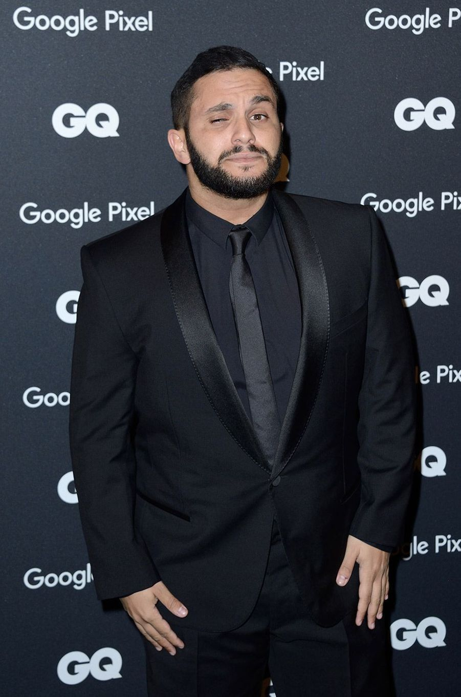 Malik Bentalha à la soirée GQ Hommes de l'année, à Paris, lundi 26 novembre