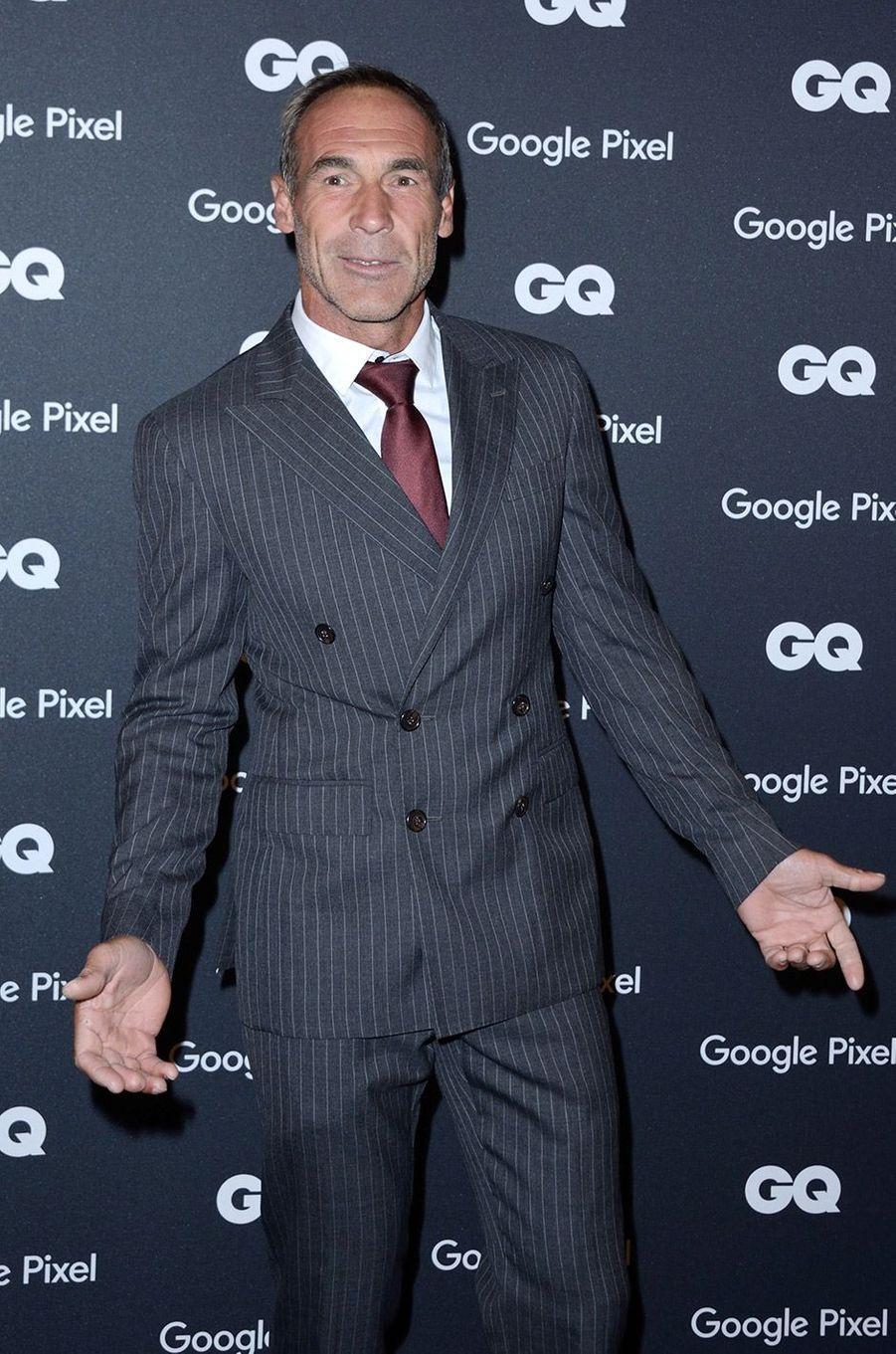 Mike Horn à la soirée GQ Hommes de l'année, à Paris, lundi 26 novembre