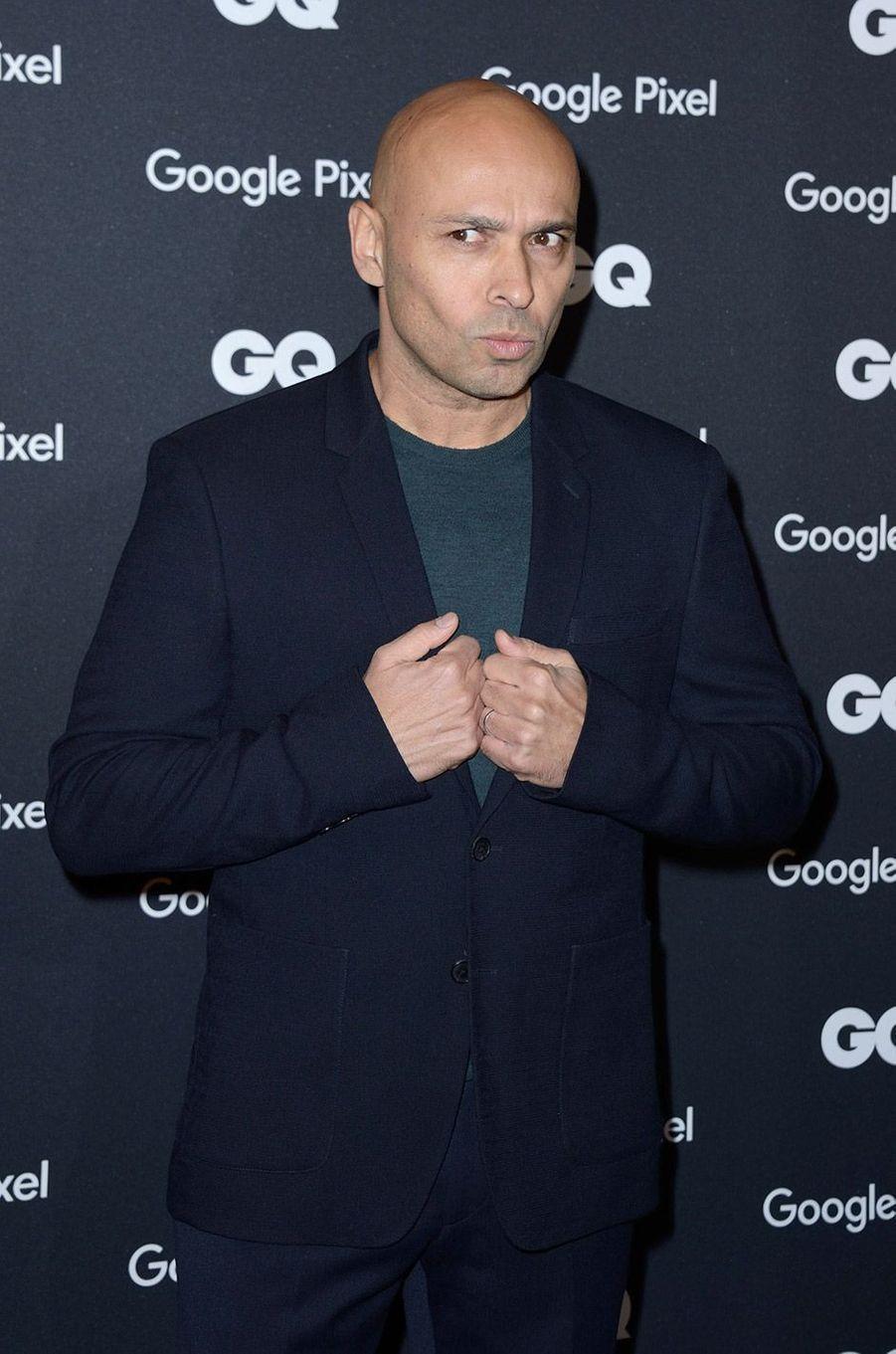 Eric Judor à la soirée GQ Hommes de l'année, à Paris, lundi 26 novembre