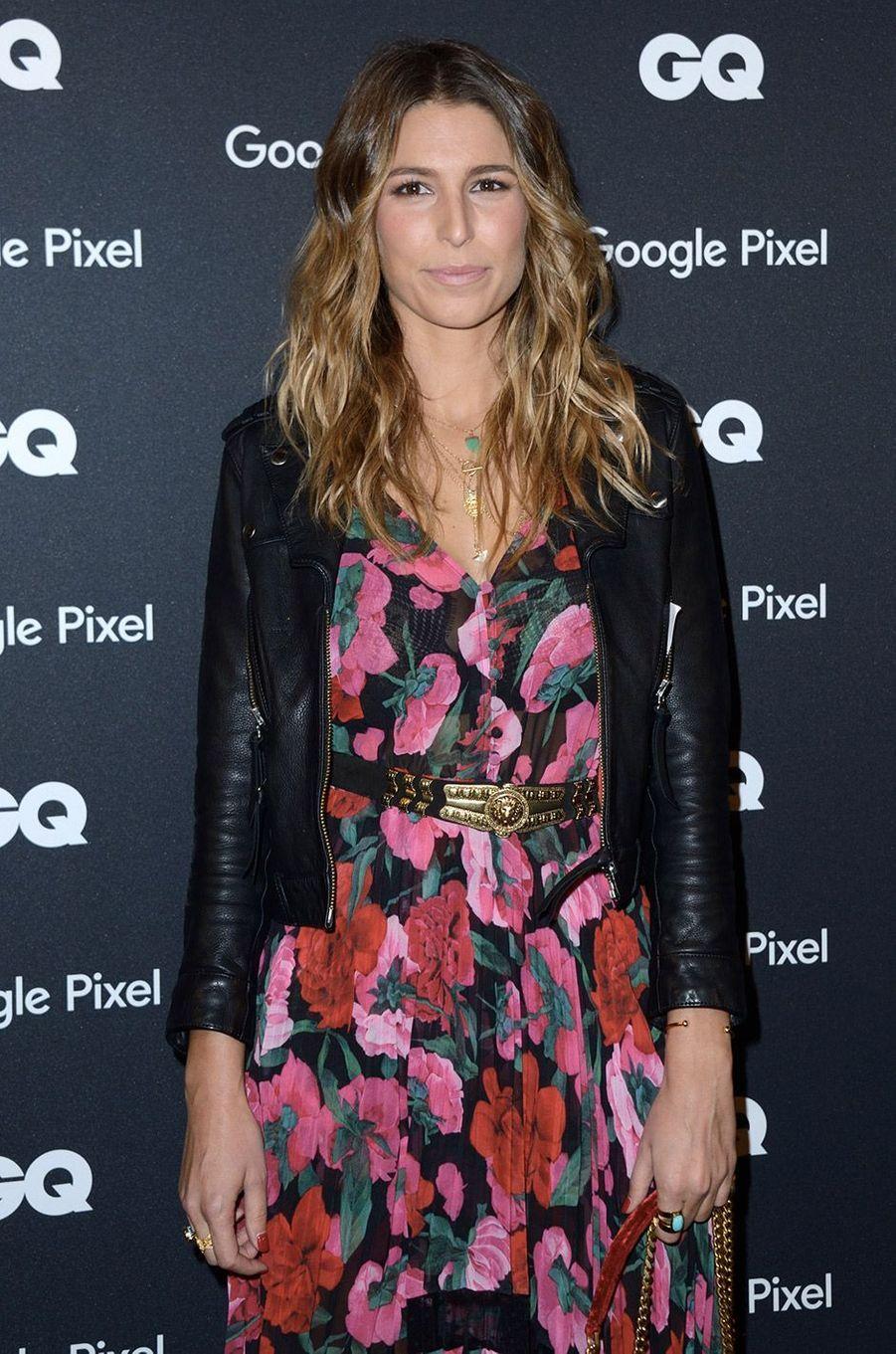Laury Thilleman à la soirée GQ Hommes de l'année, à Paris, lundi 26 novembre