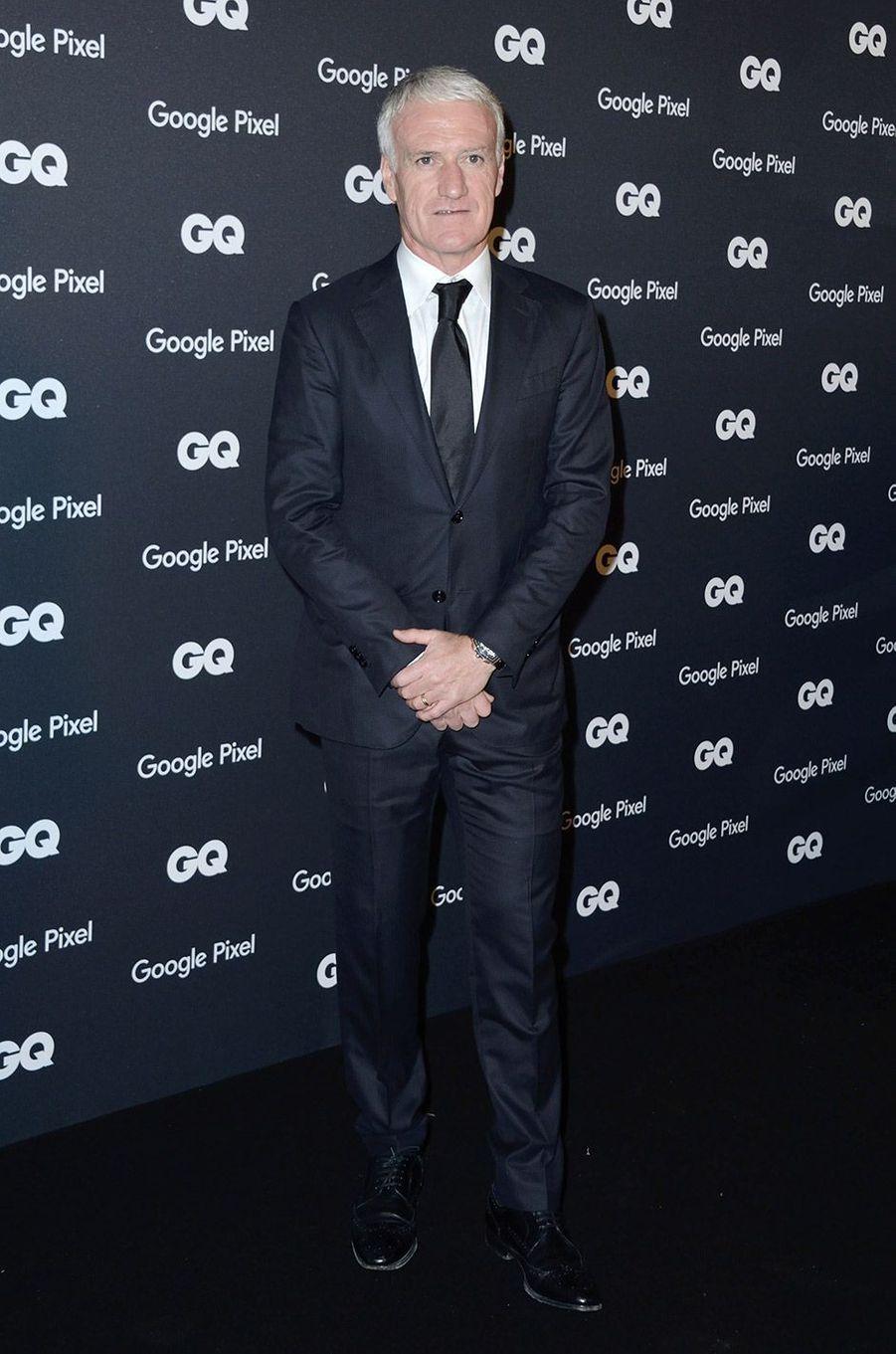 Didier Deschamps à la soirée GQ Hommes de l'année, à Paris, lundi 26 novembre