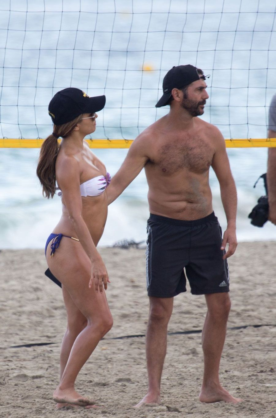 Eva Longoria et son mari à Formentera