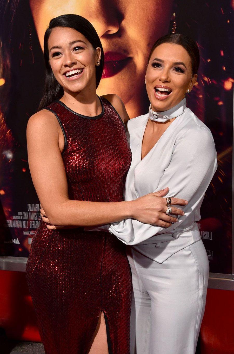 Gina Rodriguez et Eva Longoria