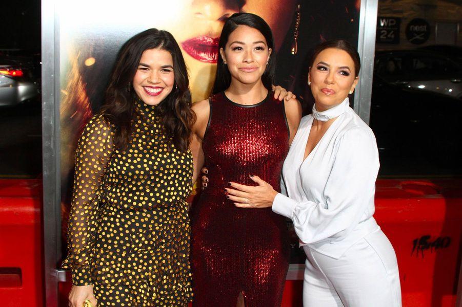 America Ferrera, Gina Rodriguez et Eva Longoria