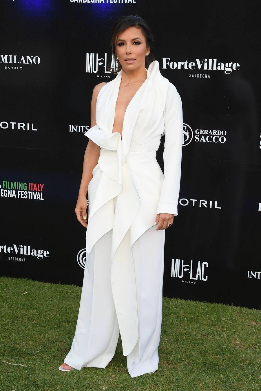 Eva Longoria en Sardaigne, le 13 juin 2019