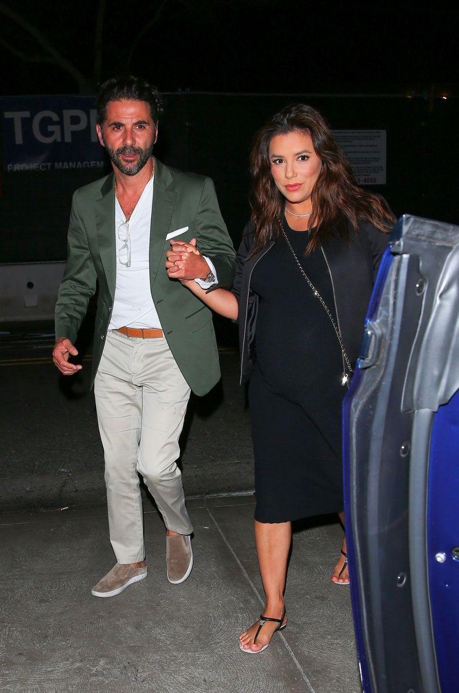 Eva Longoria et Jose Antonio Baston à West Hollywood le 4 juin 2018
