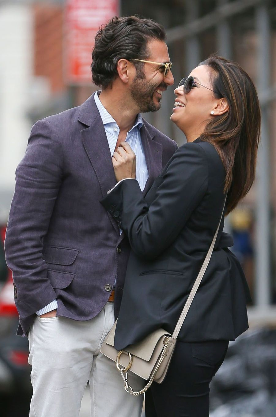 Eva Longoria et José Baston, le 26 avril 2015 à New York.