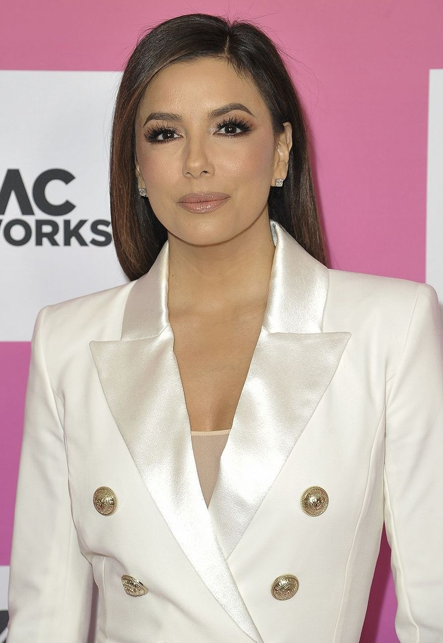 Eva Longoria au sommet «Power Women» organisé par The Wrap à Santa Monica le 25 octobre 2019